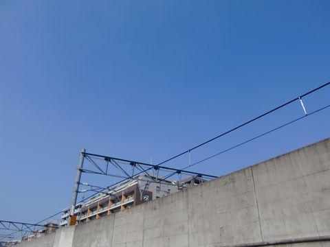横浜の青空