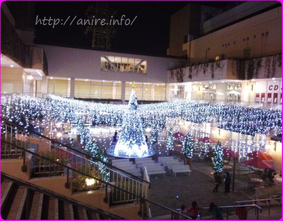 トレッサ横浜とクリスマス