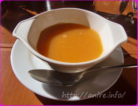 イル・バッテクオーレのランチセットスープ
