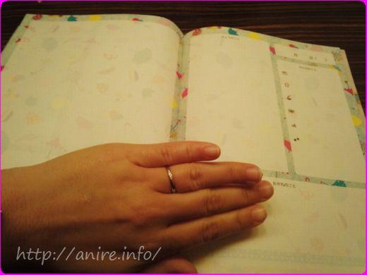 新しいタイプの貼る日記帳