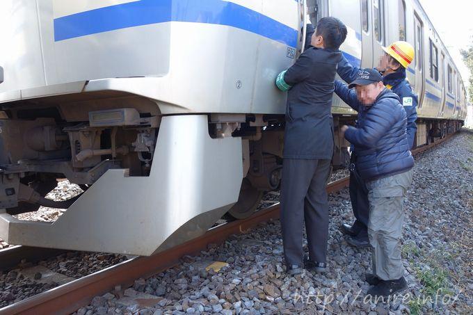 成田空港行きの電車が人身事故(四街道)