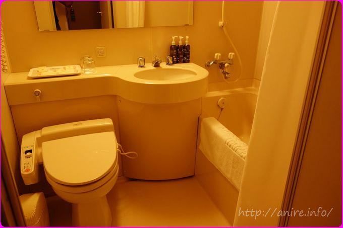 サンルートホテル台湾紙流せるトイレ