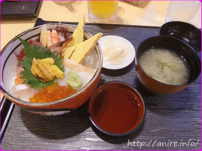 函館空港ポルックス海鮮丼
