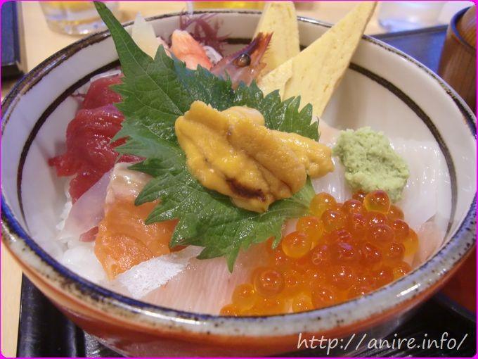 函館空港海鮮丼