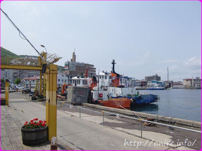 函館漁港の雰囲気