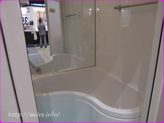 ハート型浴槽