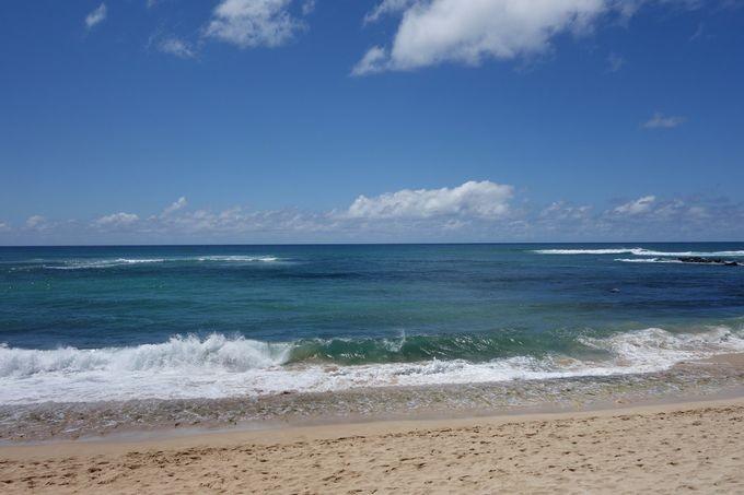 ハワイの海岸