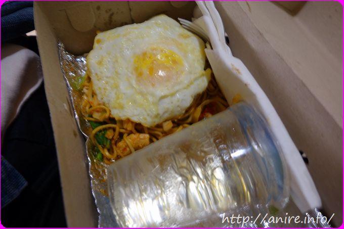 ガルーダ・インドネシア航空機内食