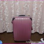 ピンクスーツケース長期間レンタルできるククレンタルを使った感想