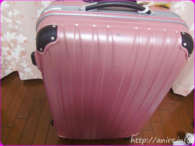 ククレンタルスーツケースピンク