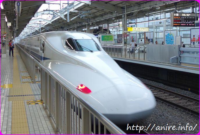 新幹線(京都駅)
