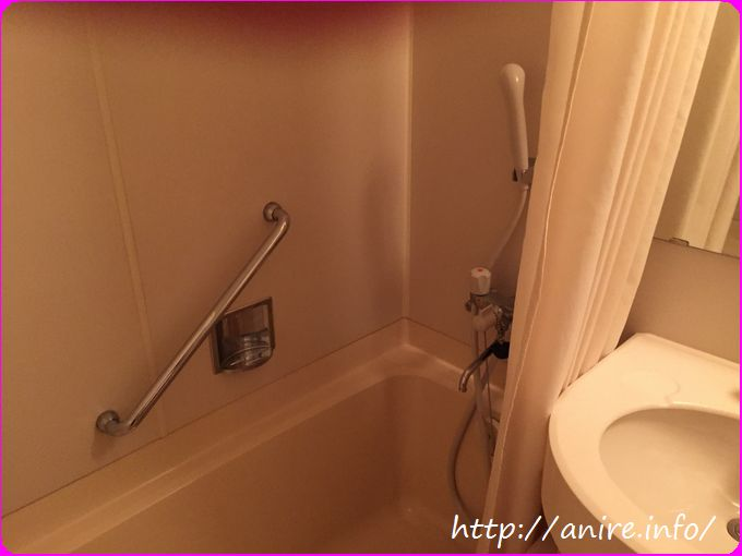 ホテルボストンインのお風呂