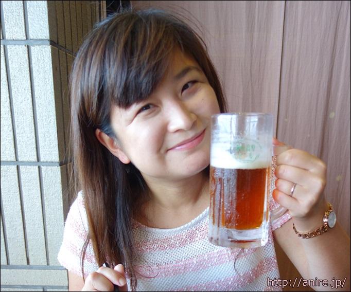 伊豆高原ビール園で昼ビール