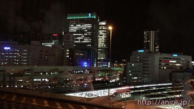 横浜の夜景ディナー