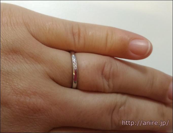 結婚指輪産後入るように
