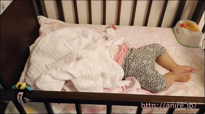 寝ない赤ちゃん