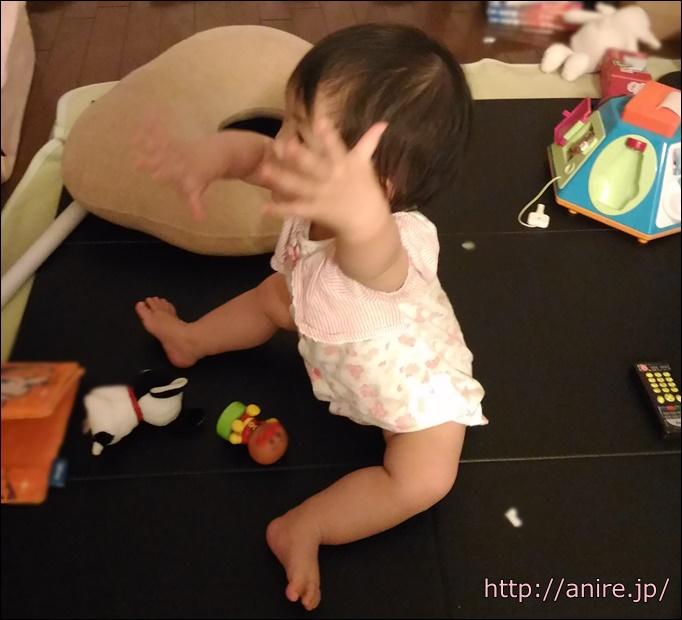 赤ちゃんお座り
