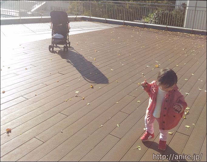 日吉で1歳児お散歩
