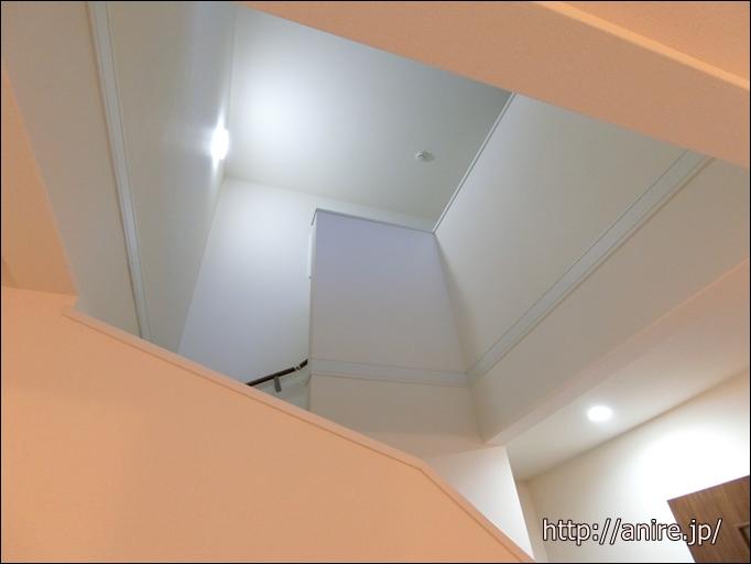新築戸建リビング階段