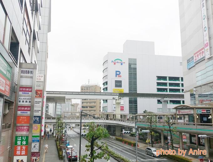立川駅広さ